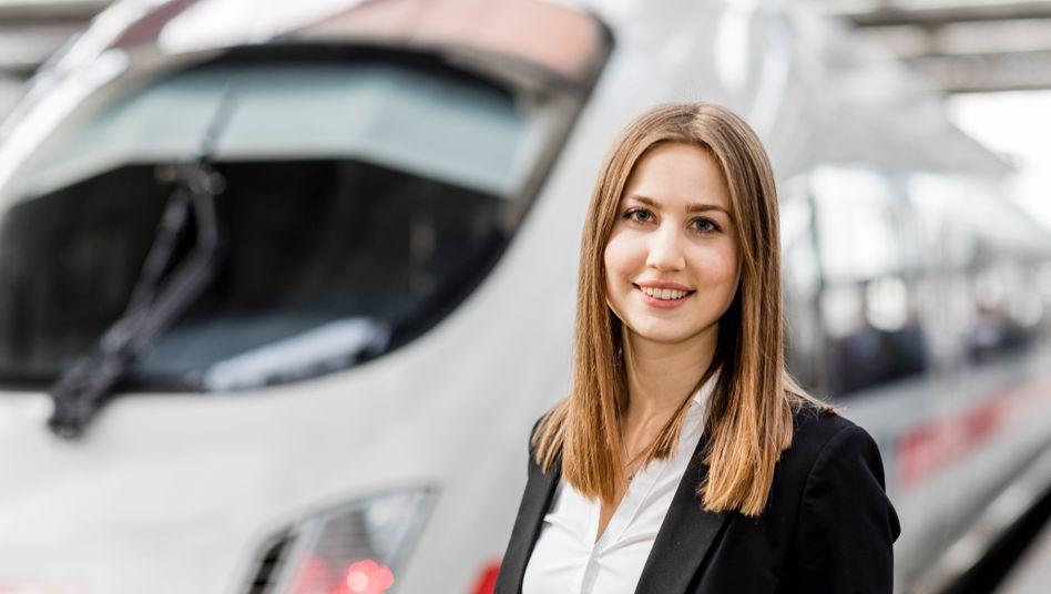 Jung und technisch versiert: Die deutsche Bahn muss ihre alternde Belegschaft ersetzen, neue Frauen und Männer werden insbesondere mit einer technischen Expertise werden gesucht