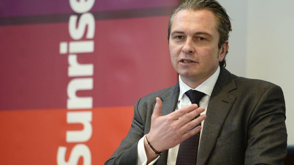 Sunrise: Nach dem Rücktritt von Olaf Swantee übernimmt André Krause (im Bild) die Führung als CEO