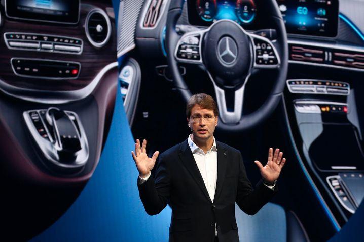 Mann unter Veränderungsdruck: Daimler-CEO Ola Källenius.