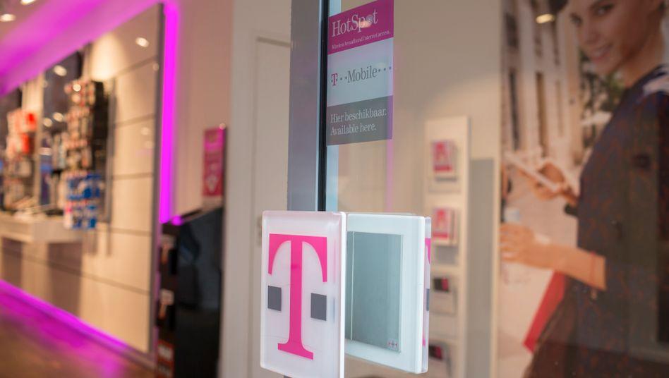 T-Mobile-Laden in Utrecht: Mobilfunktochter könnte verkauft oder an die Börse gebracht werden