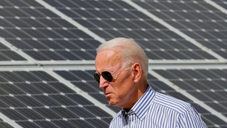 Energiewende: Die Regierung von Joe Biden will auch erneuerbare Energien massiv weiter fördern