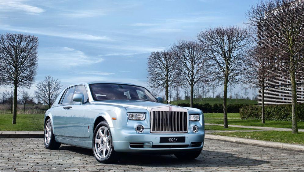 Rolls-Royce 102 EX: Lautlose Leichtigkeit