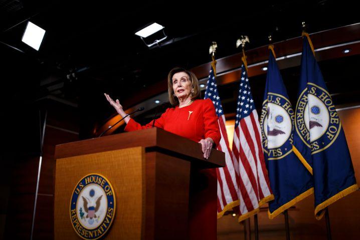 Nancy Pelosi: Einigung auf Hilfspaket in Kürze möglich