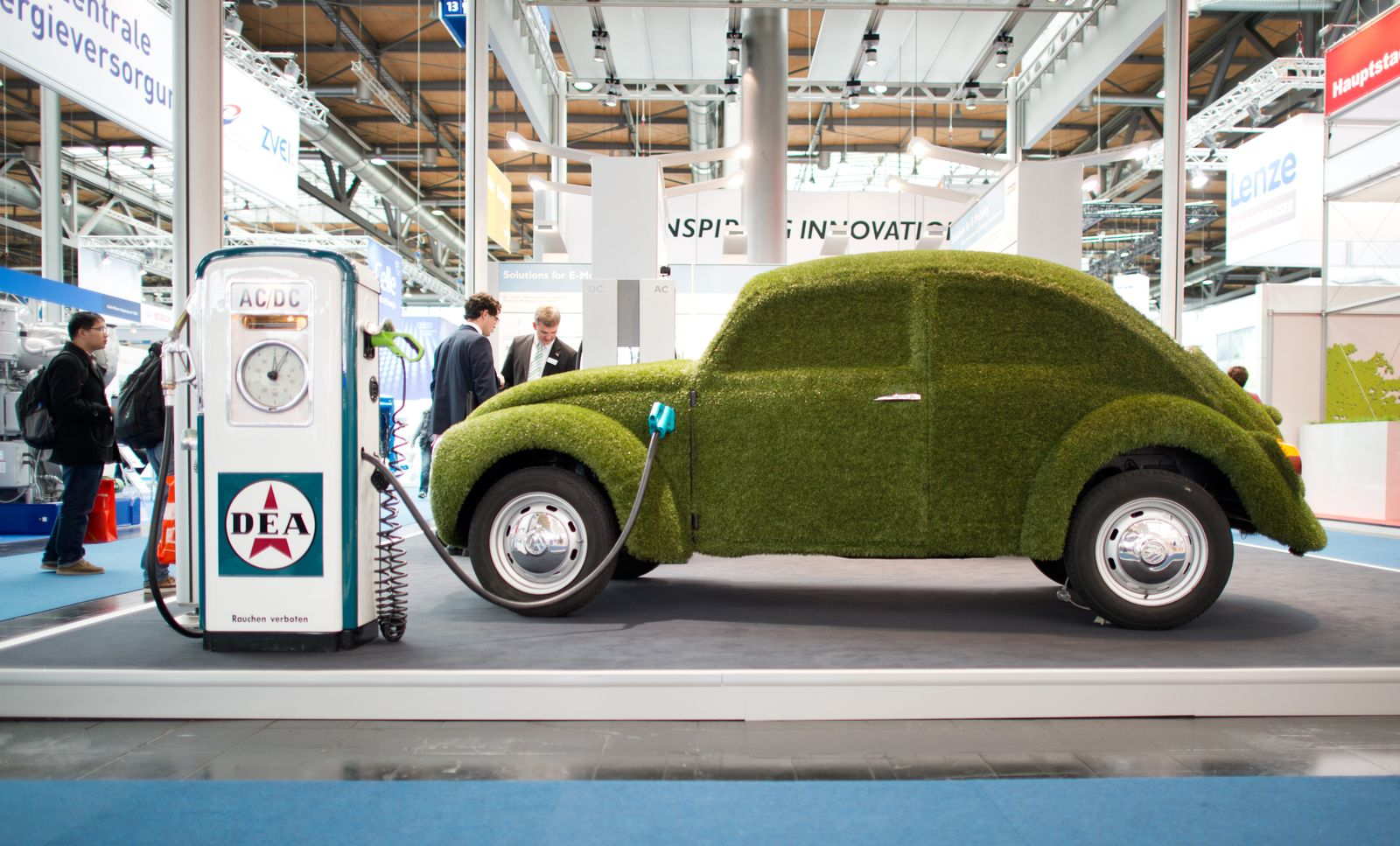 Volkwagen / Kurssturz / grüner Käfer