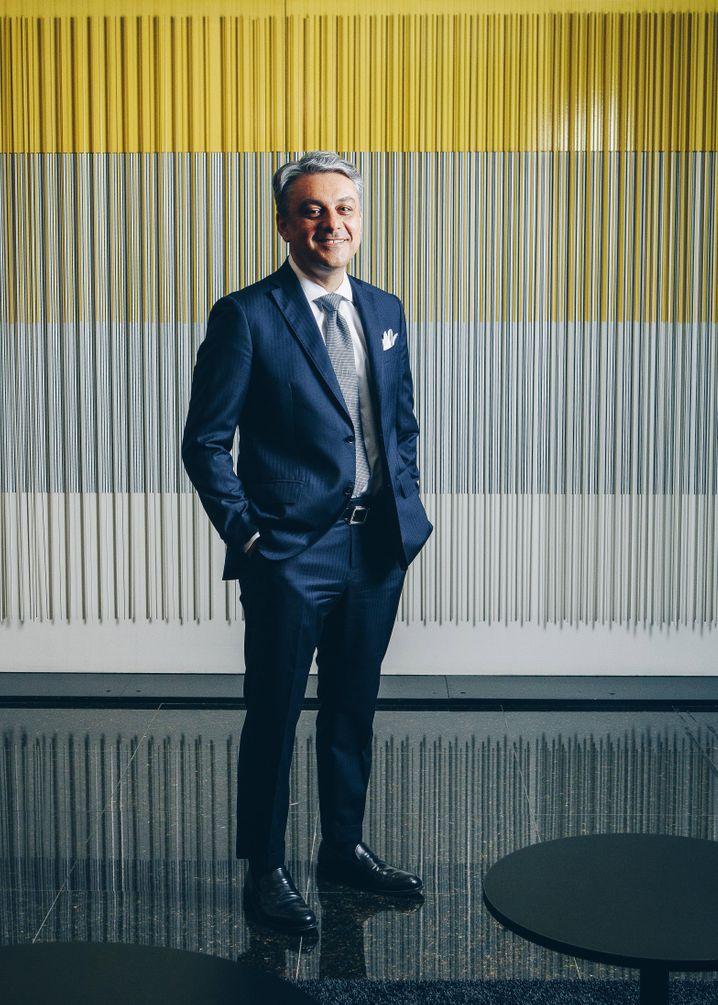 """""""Es wäre uns eine Ehre, stärker mit Daimler zusammenzuarbeiten"""": Renault-Chef Luca de Meo."""