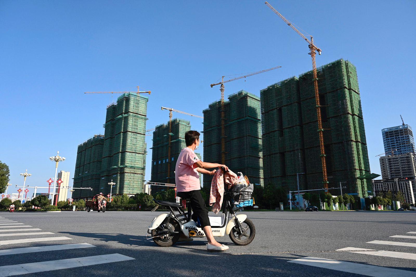 CHINA-ECONOMY-PROPERTY-EVERGRANDE