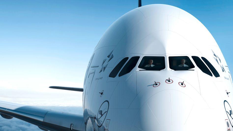 A380 der Lufthansa: Aktie mit Kursrutsch nach Höhenflug im Vorjahr