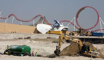 Baustelle in Dubai: Selbst die Reichen haben zu wenig Eigenkapital