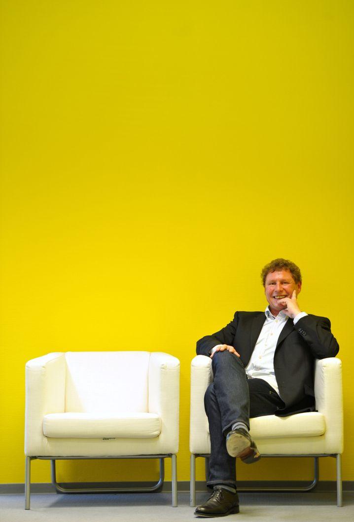 Peter Betzel, Geschäftsführer von Ikea Deutschland
