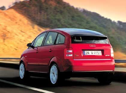 Hoffnungsträger mit 3 Litern: Der sparsame, aber teure Audi A2 fand zu wenig Kunden und wurde eingestellt