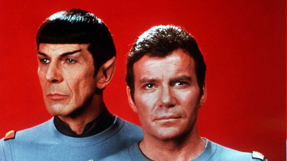 """""""Beam me up, Scotty"""": Das Reisen per Teleport, wie es Captain James T. Kirk und Spock vom Raumschiff Enterprise pflegten, wird auch im Jahr 2050 noch gegen die physikalischen Gesetze verstoßen"""