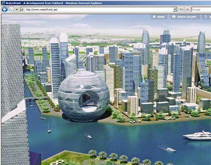 """Dubai Waterfront: """"Große Verwirrung"""" zwischen der Regierung und der Holding Dubai World"""