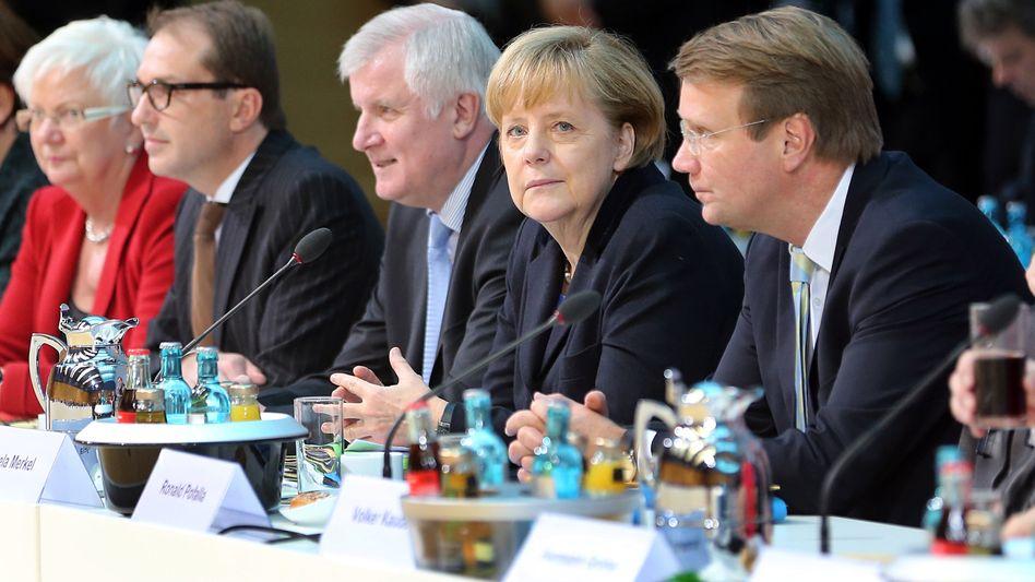 Verhandlung: Bei Koalitionsgesprächen muss man tief in die Trickkiste greifen