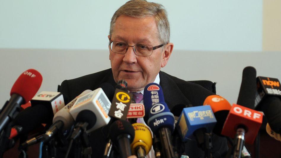 Auf Werbetour: EFSF-Chef Klaus Regling erhielt weder in China noch Japan Zusagen für zusätzliche Hilfen