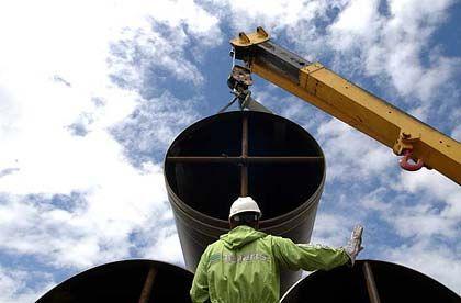 Röhren von Tenaris: Das italienisch-argentinische Unternehmen beliefert auch Gazprom und Luukoil