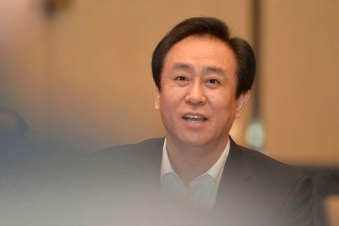 Konzernchef in Not: Evergrande-Chef Hui Ka Yan will Vermögensverwaltungsprodukte an die Anleger auszahlen. Doch die Sorgen um einen möglichen Kollaps des Konzerns bleiben