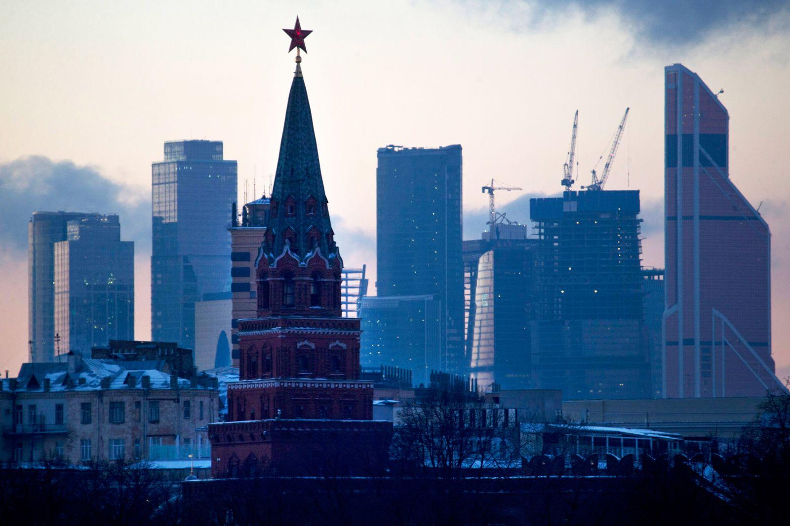 Russland / Moskau / Banken-Viertel / Kreml-Turm / Konjunktur