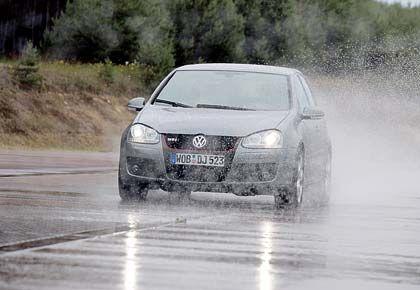 Fest in der Spur: Die Papiere von Volkswagen gehörten heute zu den Gewinnern