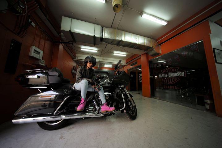 Motorradausbildung bei Harley-Händler in Saudi-Arabien