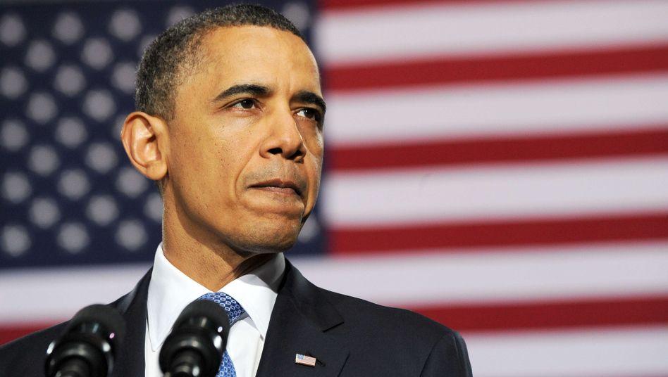 """US-Präsident Obama: Republikaner und Tea-Party treiben die Regierung vor sich her - doch der jüngste """"Shutdown"""" unter Bill Clinton erwies sich für die blockierende Opposition als Eigentor. Sie wurden für den Stillstand verantwortlich gemacht"""