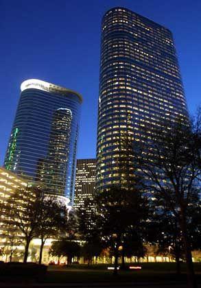 Zentrale der Gier: Ehemalige Hauptquartiere von Enron in Houston