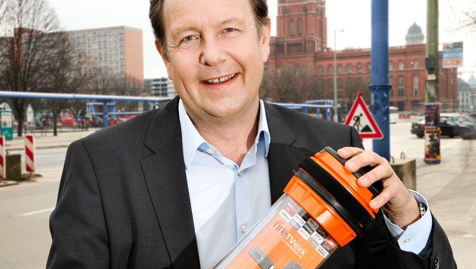 Amazons freundliches Gesicht in Deutschland: Landeschef Ralf Kleber.