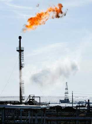 Profitables Geschäft: Gasförderung in Sibirien