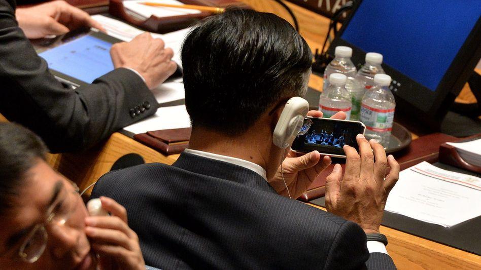 Videos auf dem Smartphone gehören zu den größten Treibern des bis 2019 rasant steigenden Datenverkehrs