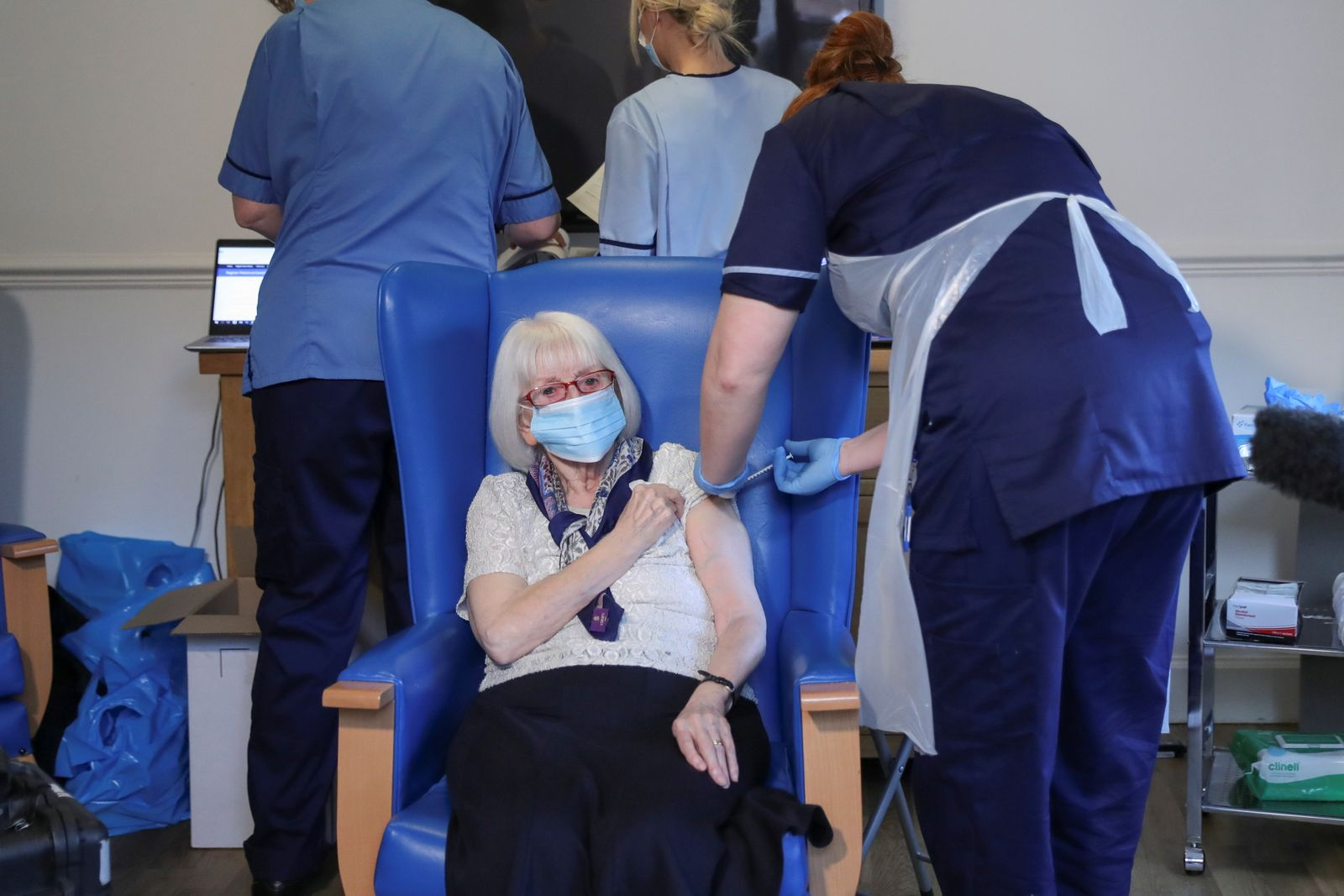 Care Home Vaccinations Begin In Scotland