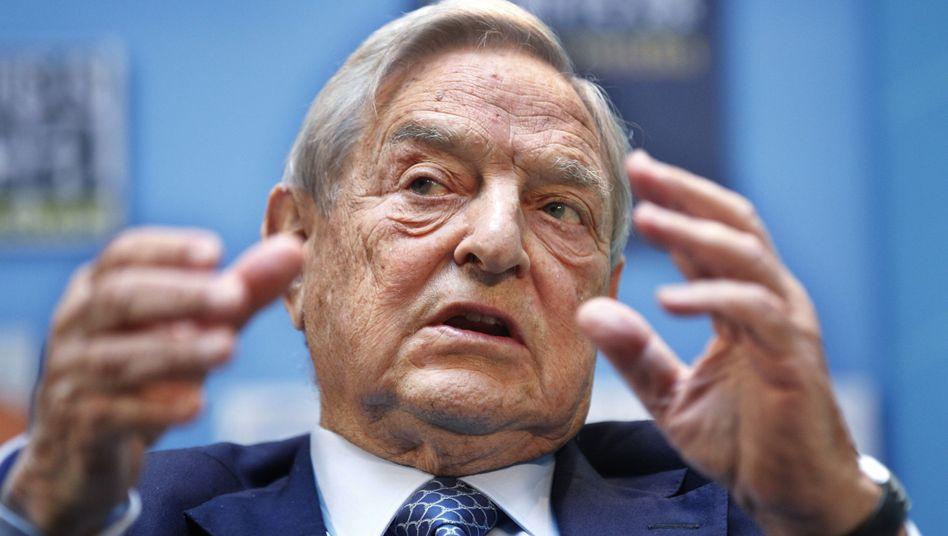 Warnung: Investor und Multimilliardär Soros sorgt sich um die Euro-Zone