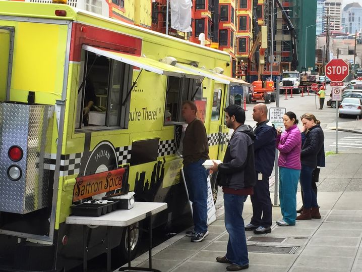 Food Truck vor der Amazon-Zentrale: There is no Free Lunch