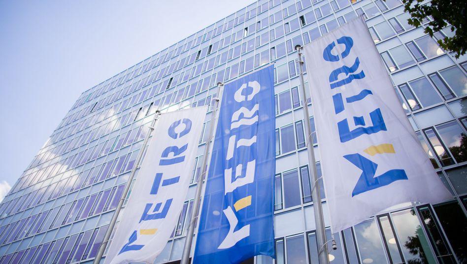Metro-Zentrale in Düsseldorf: Wer bekommt das Aktienpaket, das Ceconomy hält?