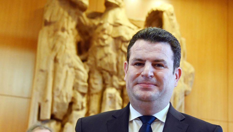 """""""Wollen mehr Homeoffice ermöglichen, aber nicht erzwingen"""": Arbeitsminister Hubertus Heil (SPD)."""