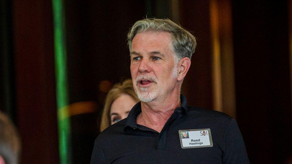 Ungewöhnliche Verzerrung der Zahlen: Netflix-Chef Reed Hastings stellt in einem Brief an die Aktionäre das rasante Wachstum während der Pandemie eher als Ausnahmefall dar