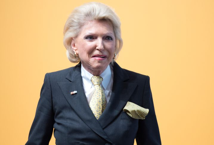 Maria-Elisabeth Schaeffler-Thumann, Aufsichtsrätin bei Continental und Schaeffler.