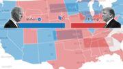Wo Joe Biden seine Mehrheit holte