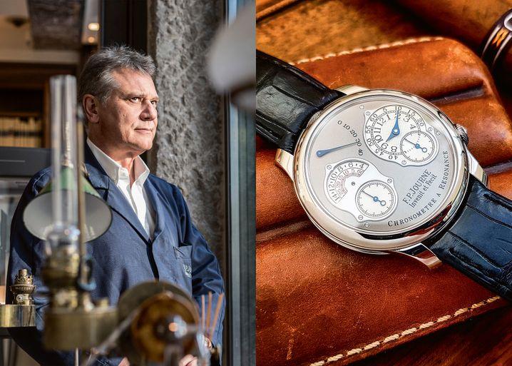 Spontaner Mitbieter: Star-Uhrmacher François-Paul Journe erwarb auf der Haub-Auktion eine Breguet et Fils von 1825 für 160.000 Euro. Seine eigenen Uhren sind deutlich teurer.