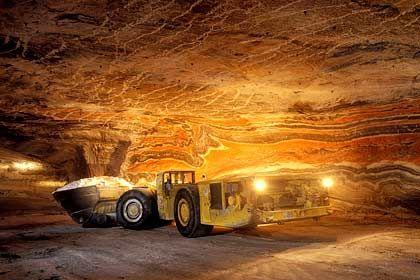Die deutsche Rohstoffmacht: Bergwerk von K+S