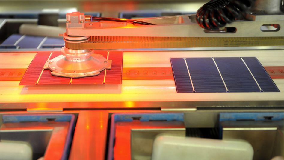 Produktion von Solarzellen: Subventionen in Deutschland werden zurückgefahren
