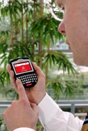 Vorbild Blackberry: Jede E-Mail wird automatisch auf das Handy weitergeleitet