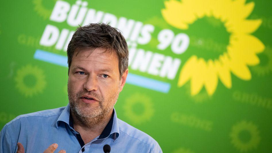 Kein Elektroauto unter 20.000 Euro? Grünen-Chef Robert Habeck kritisiert die E-Auto-Strategie Volkswagens