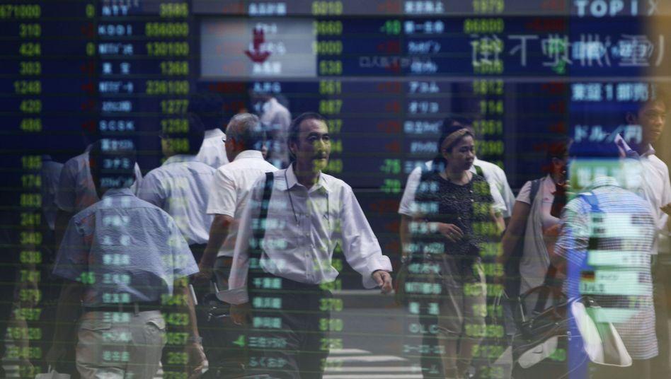 Börse in Tokio: Hohes Kursniveau erreicht