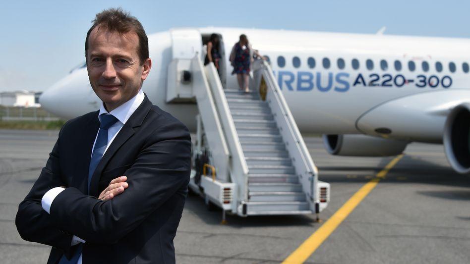 Passionierter Amateur-Pilot, Langstreckenläufer und Triathlet: Guillaume Faury folgt an der Airbus-Spitze auf Tom Enders