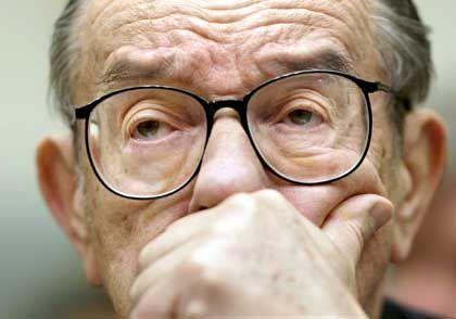 """Alan Greenspan: """"Jetzt schaltet man ihn ab"""""""
