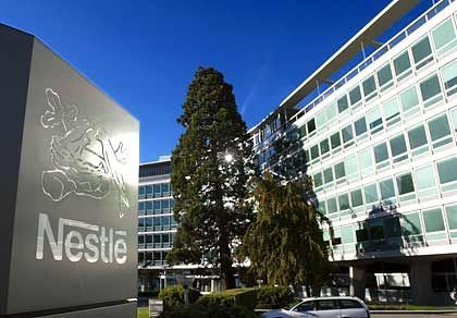 Vorstandsumbau: Nestlé-Zentrale in Vevey