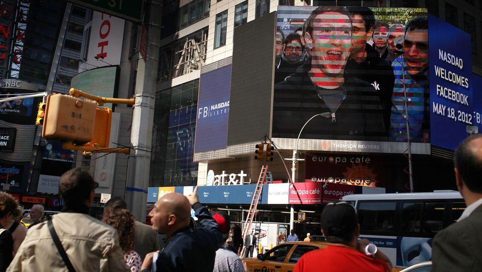 Facebook-Gründer Mark Zuckerberg: Börsengang mit Nachspiel