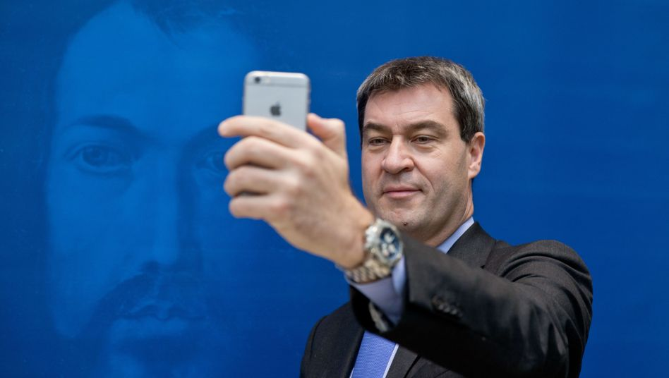 Bekennender Apple-Fan: Bayerns Finanzminister Markus Söder