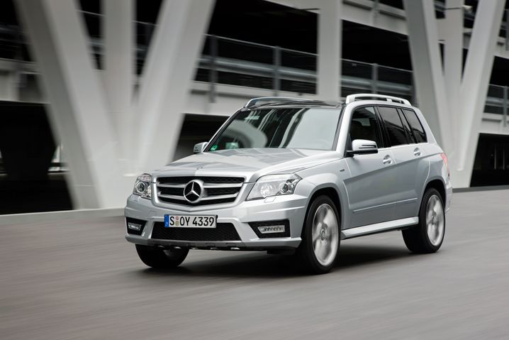 Mercedes GLK: Klare Kante