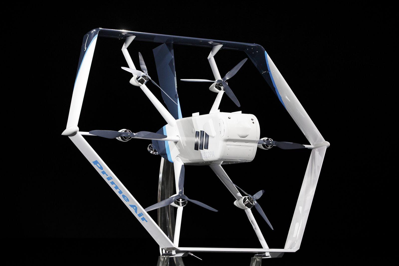 Amazon kündigt Lieferungen per Drohne binnen Monaten an