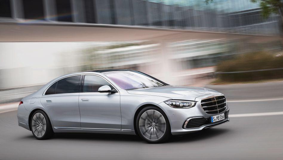 Die Neuauflage der S-Klasse von Mercedes-Benz